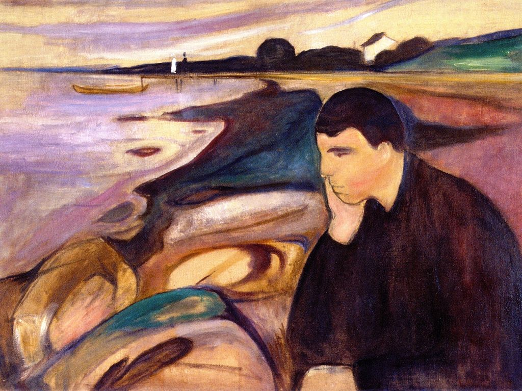 Edvard Munch   Melancholy 1894